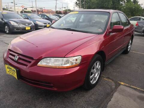 2002 Honda Accord for sale at ASHLAND AUTO SALES in Columbia MO