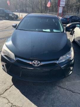2015 Toyota Camry for sale at LAKE CITY AUTO SALES - Jonesboro in Morrow GA