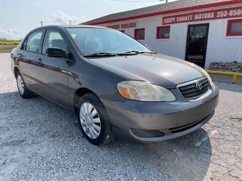 2005 Toyota Corolla for sale at Sarpy County Motors in Springfield NE