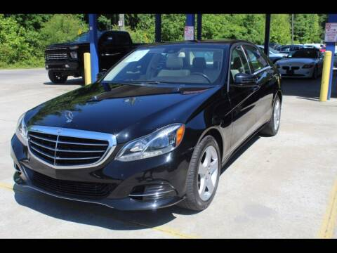 2014 Mercedes-Benz E-Class for sale at Inline Auto Sales in Fuquay Varina NC