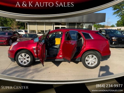 2010 Cadillac SRX for sale at A & K Auto Sales in Mauldin SC
