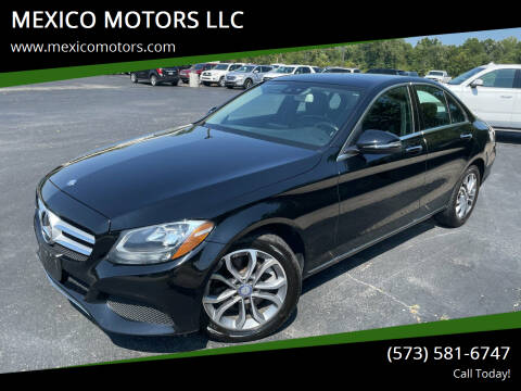 2017 Mercedes-Benz C-Class for sale at MEXICO MOTORS LLC in Mexico MO