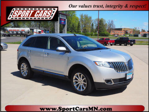2013 Lincoln MKX for sale at SPORT CARS in Norwood MN