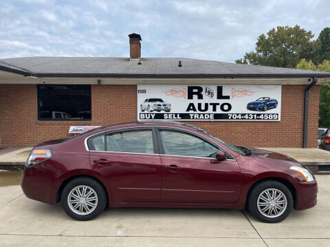 2011 Nissan Altima for sale at R & L Autos in Salisbury NC