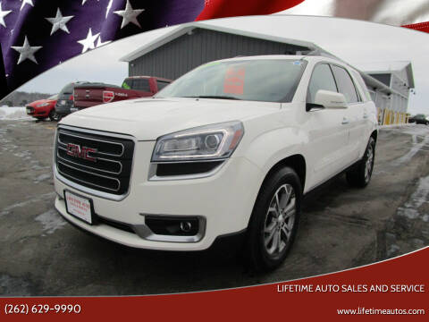 2014 GMC Acadia for sale at Lifetime Auto Sales and Service in West Bend WI