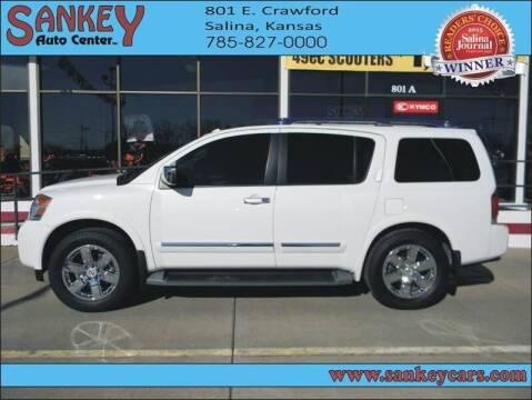 2014 Nissan Armada for sale at Sankey Auto Center, Inc in Salina KS