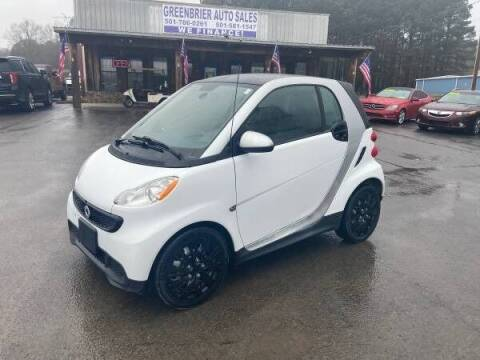 2015 Smart fortwo for sale at Greenbrier Auto Sales in Greenbrier AR