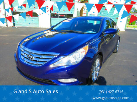 2012 Hyundai Sonata for sale at G and S Auto Sales in Ardmore TN