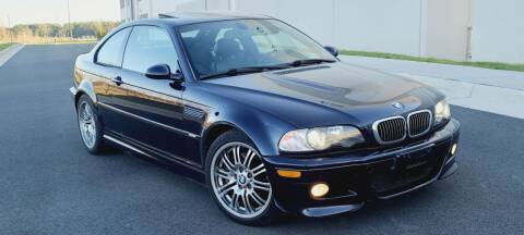 2004 BMW M3 for sale at BOOST MOTORS LLC in Sterling VA