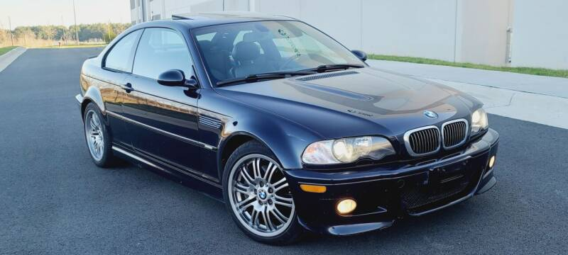 2004 BMW M3 for sale at BOOST MOTORS LLC in Sterling VA