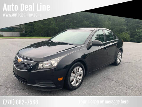 2012 Chevrolet Cruze for sale at Auto Deal Line in Alpharetta GA