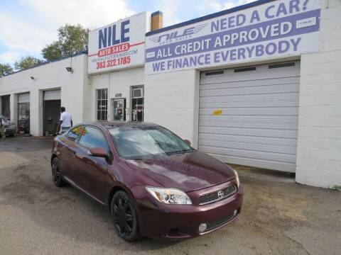 2007 Scion tC for sale at Nile Auto Sales in Denver CO