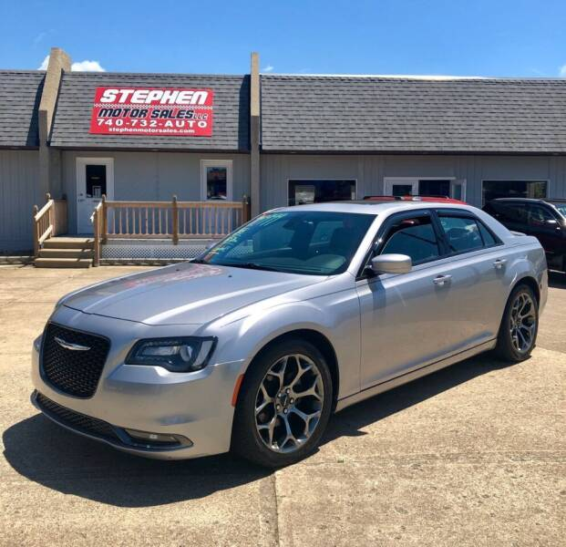 2015 Chrysler 300 for sale at Stephen Motor Sales LLC in Caldwell OH