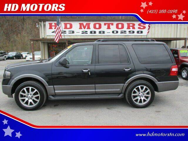 2011 Ford Expedition for sale at HD MOTORS in Kingsport TN