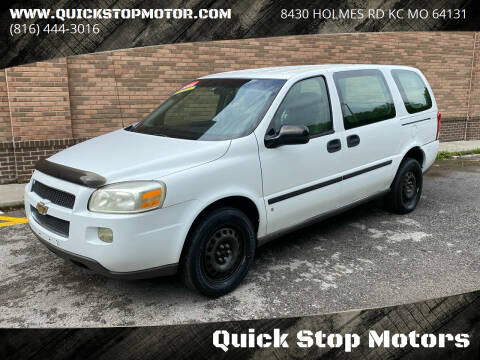 2006 Chevrolet Uplander for sale at Quick Stop Motors in Kansas City MO