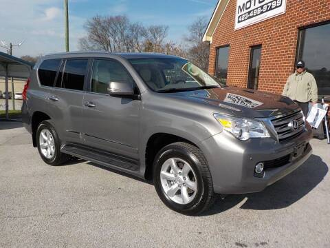 2013 Lexus GX 460 for sale at C & C MOTORS in Chattanooga TN