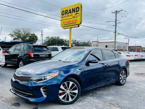 2016 Kia Optima for sale at Grand Auto Sales in Tampa FL