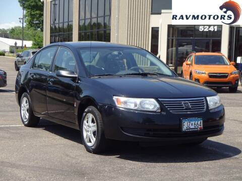 2007 Saturn Ion for sale at RAVMOTORS 2 in Crystal MN