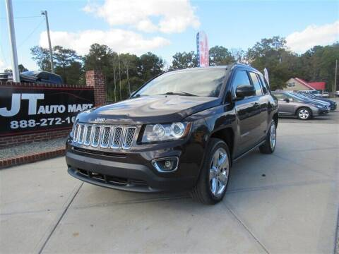 2014 Jeep Compass for sale at J T Auto Group in Sanford NC