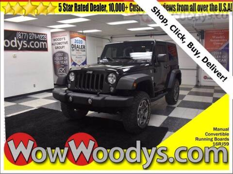 2016 Jeep Wrangler for sale at WOODY'S AUTOMOTIVE GROUP in Chillicothe MO
