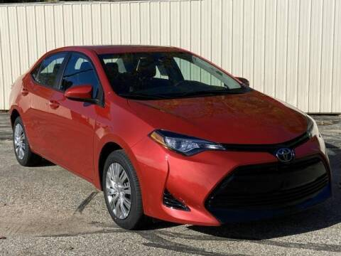 2017 Toyota Corolla for sale at Miller Auto Sales in Saint Louis MI