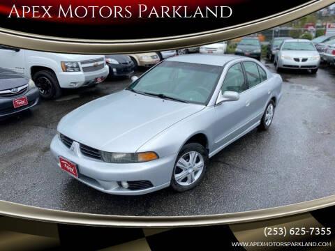 2002 Mitsubishi Galant for sale at Apex Motors Parkland in Tacoma WA