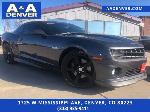 2011 Chevrolet Camaro for sale at A & A AUTO LLC in Denver CO