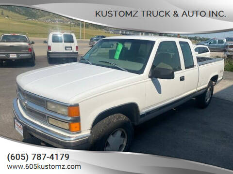 1998 Chevrolet C/K 1500 Series for sale at Kustomz Truck & Auto Inc. in Rapid City SD