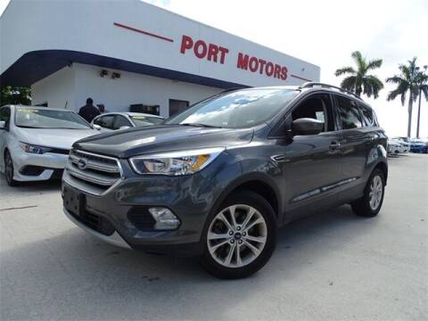 2018 Ford Escape for sale at Automotive Credit Union Services in West Palm Beach FL
