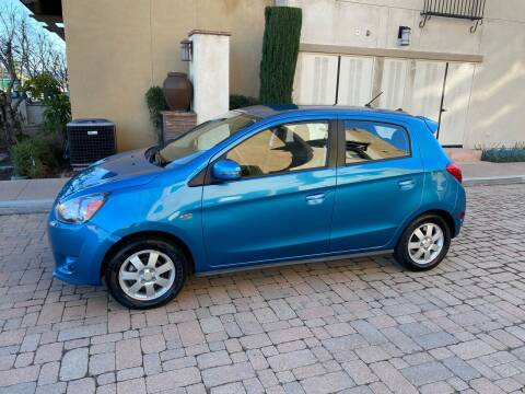 2015 Mitsubishi Mirage for sale at California Motor Cars in Covina CA