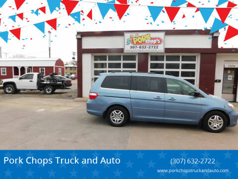 2007 Honda Odyssey for sale at Pork Chops Truck and Auto in Cheyenne WY
