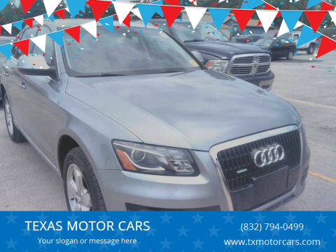 2010 Audi Q5 for sale at TEXAS MOTOR CARS in Houston TX