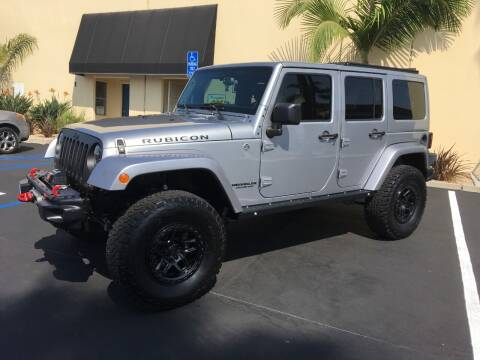 2013 Jeep Wrangler Unlimited for sale at MANGIONE MOTORS ORANGE COUNTY in Costa Mesa CA