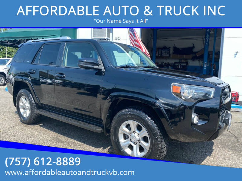 2014 Toyota 4Runner for sale at AFFORDABLE AUTO & TRUCK INC in Virginia Beach VA