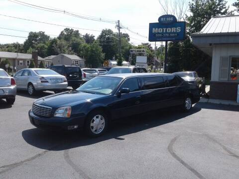 2005 Cadillac DeVille for sale at Route 106 Motors in East Bridgewater MA