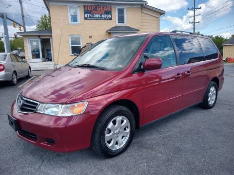 2003 Honda Odyssey for sale at Top Gear Motors in Winchester VA