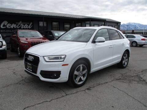 2015 Audi Q3 for sale at Central Auto in South Salt Lake UT