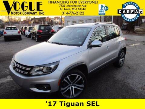 2017 Volkswagen Tiguan for sale at Vogue Motor Company Inc in Saint Louis MO