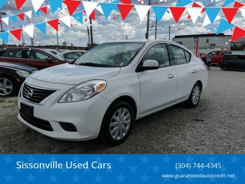 2014 Nissan Versa for sale at Sissonville Used Cars in Charleston WV