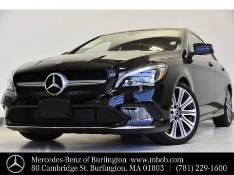 2019 Mercedes-Benz CLA for sale at Mercedes Benz of Burlington in Burlington MA