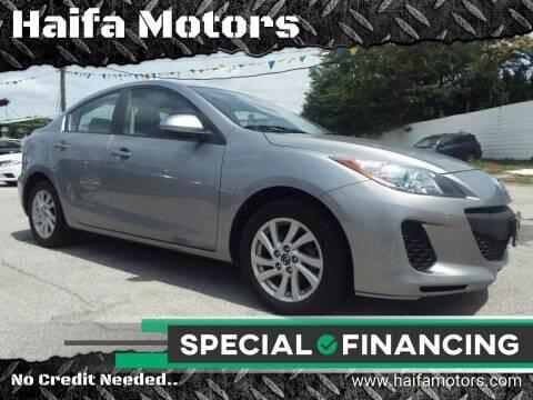 2013 Mazda MAZDA3 for sale at Haifa Motors in Philadelphia PA