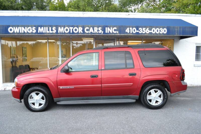 2003 Chevrolet TrailBlazer for sale at Owings Mills Motor Cars in Owings Mills MD