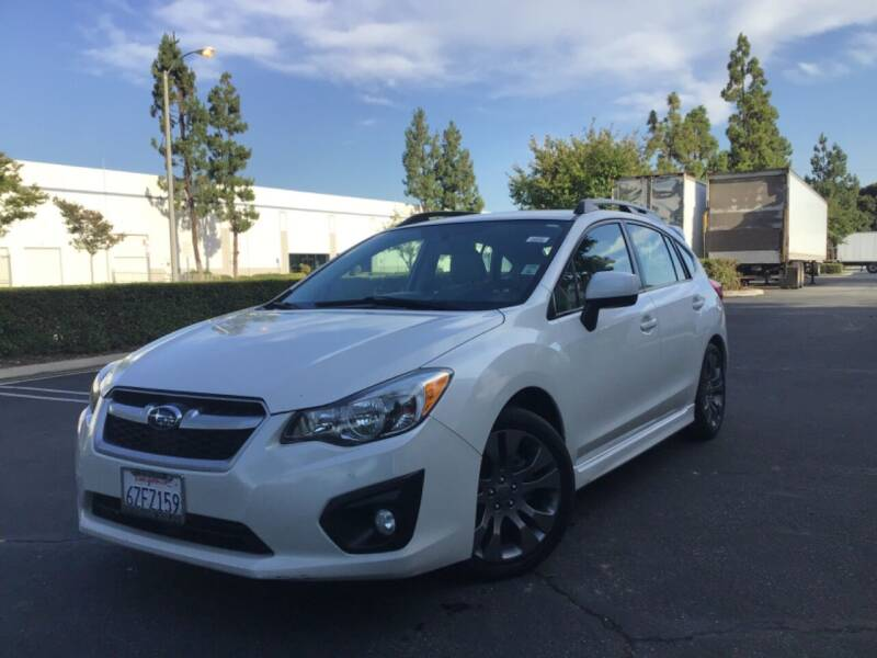 2013 Subaru Impreza for sale at Tri City Auto Sales in Whittier CA