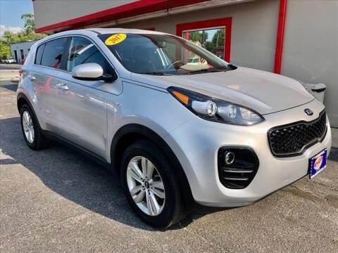 2017 Kia Sportage for sale at Richardson Sales & Service in Highland IN