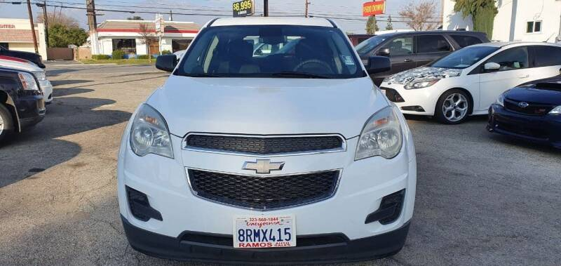 2012 Chevrolet Equinox for sale at Auto Land in Ontario CA
