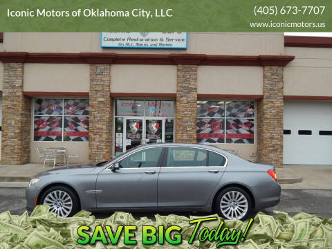 2012 BMW 7 Series for sale at Iconic Motors of Oklahoma City, LLC in Oklahoma City OK