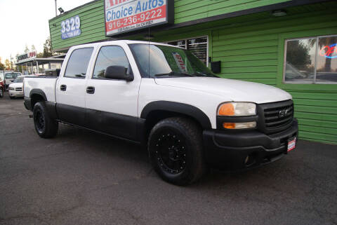 2004 GMC Sierra 1500 for sale at Amazing Choice Autos in Sacramento CA