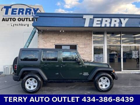2011 Jeep Wrangler Unlimited for sale at Terry Auto Outlet in Lynchburg VA