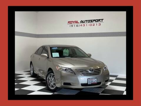 2007 Toyota Camry for sale at Royal AutoSport in Sacramento CA