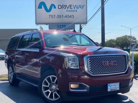 2017 GMC Yukon XL for sale at Driveway Motors in Virginia Beach VA
